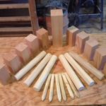 How to Make Your Own Kubb Set