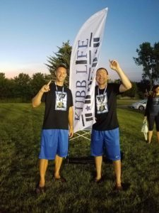 Photo of Kubb Life players.