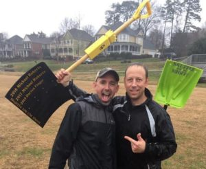 Photo of Skuffle for the Shovel winners.