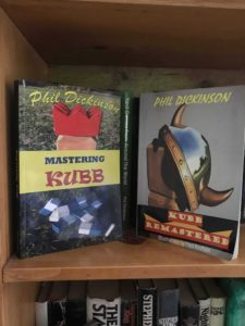 Phil Dickinson's kubb books.
